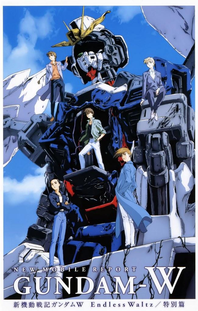 Nice Wallpapers Mobile Suit Gundam Wing 650x1024px Gundam Wing Endless Waltz Movie Poster 650x1024 Wallpaper Teahub Io
