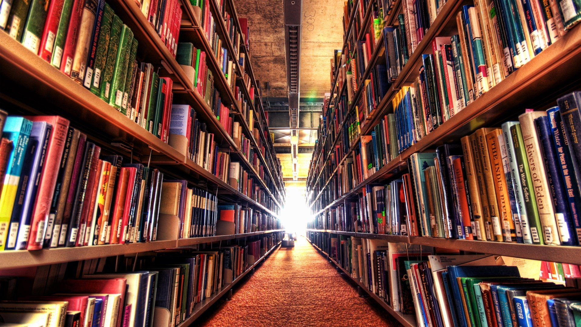 Library Background Image Hd - 1920x1080 ...