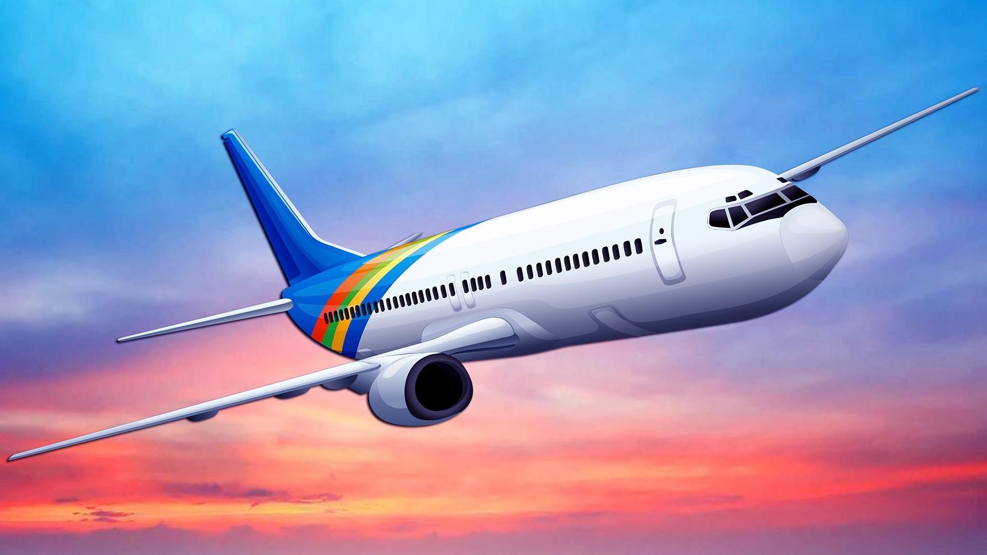 Airplane Desktop Wallpaper   Data Src Airplane Wallpapers - Transparent Background Plane Png - HD Wallpaper