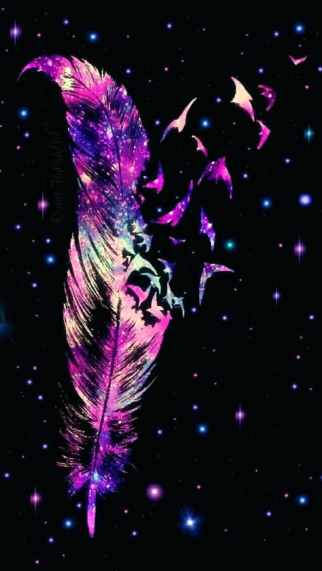 Feather Wallpaper Feather Wallpaper Galaxy Feather Background 640x1136 Wallpaper Teahub Io