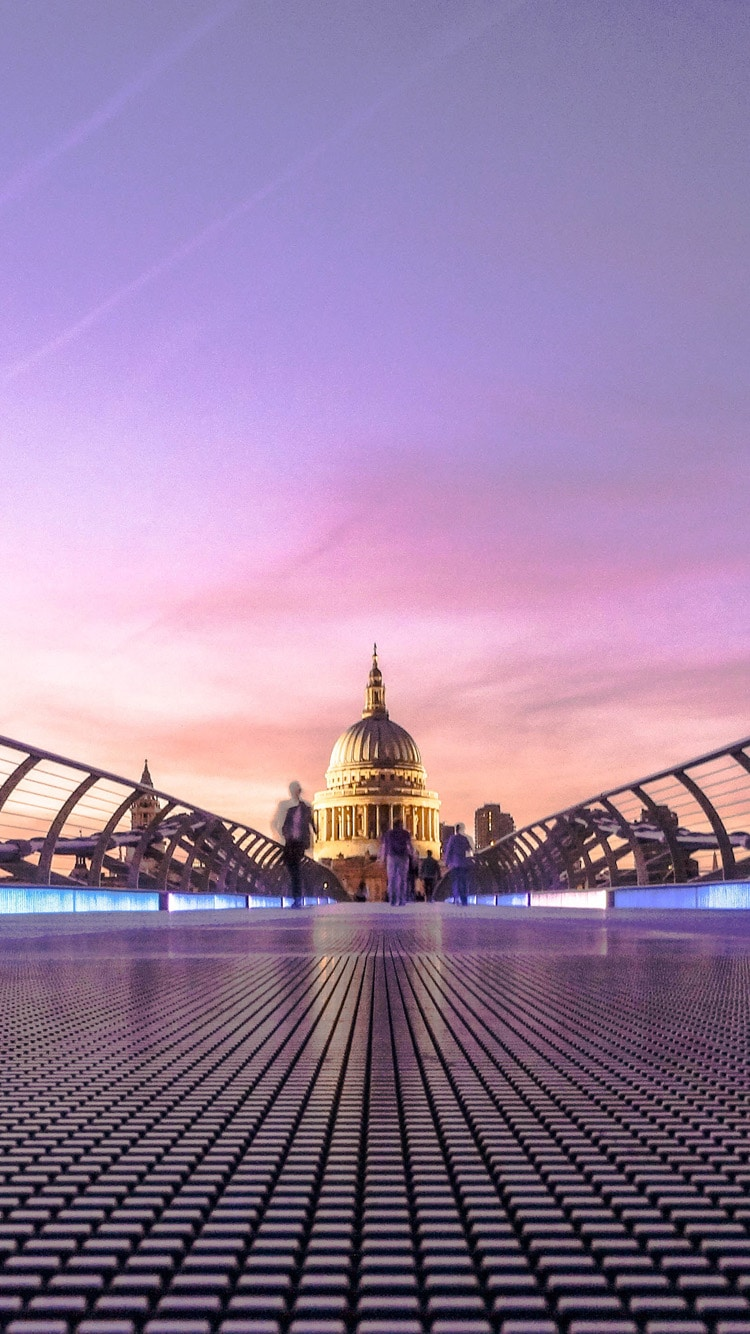 Millennium Bridge, London, St - Quotes From The Great Fire Of London - HD Wallpaper