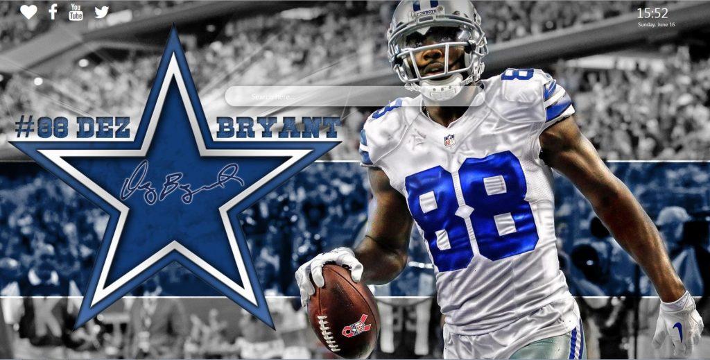 Dez Bryant Wallpaper - Dallas Cowboys Background - HD Wallpaper