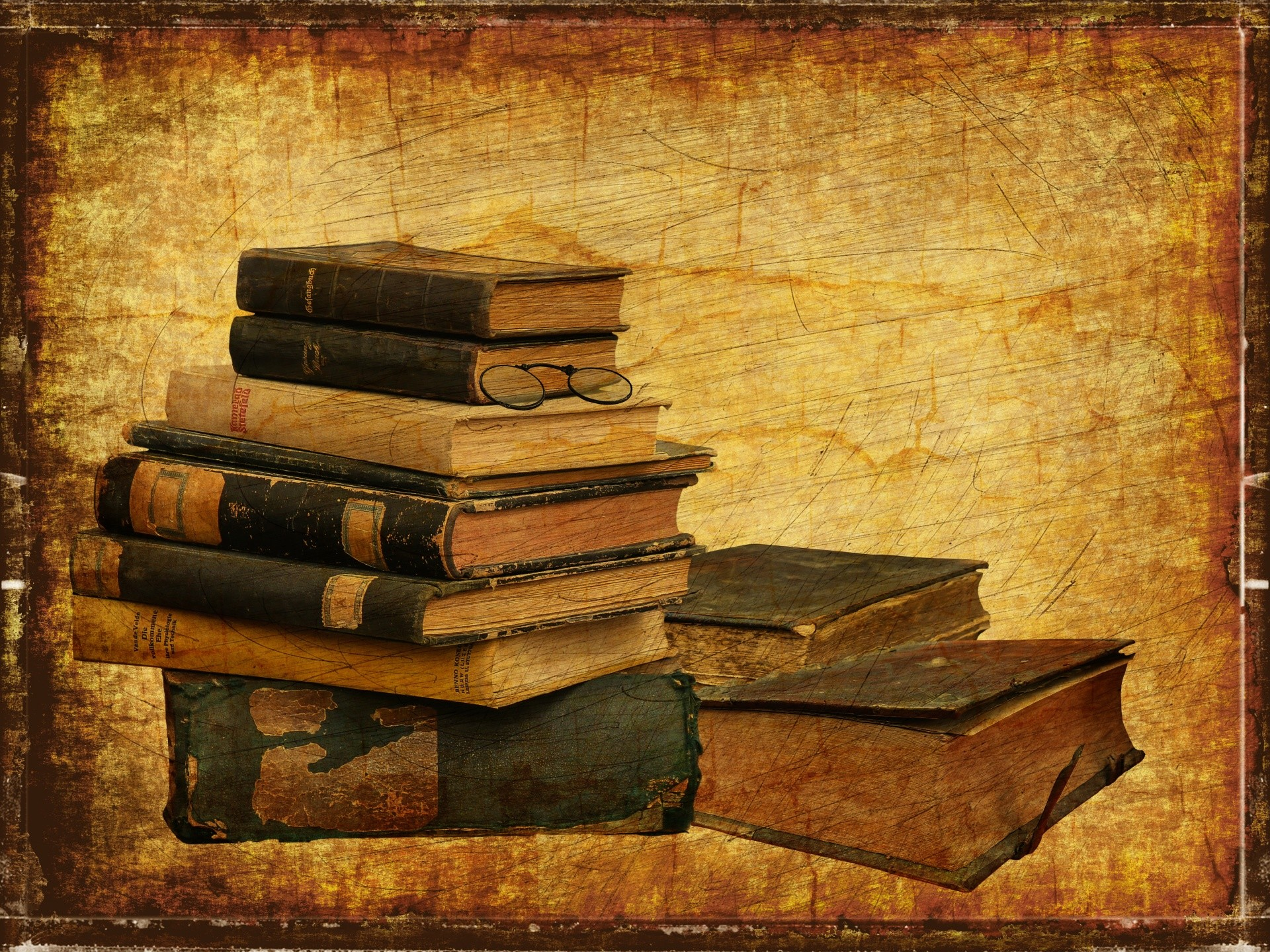 1920x1440, Vintage Photography Book Wallpapers Hd - Vintage Old Book Background - HD Wallpaper