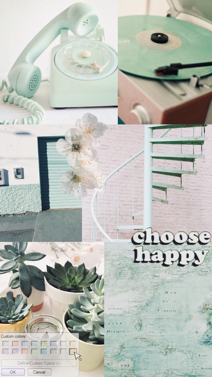 Image Vintage Mint Green Aesthetic 720x1280 Wallpaper Teahub Io