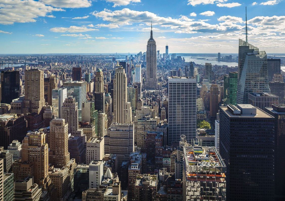 New York Skyline, Empire State Building, Manhattan - New York City - HD Wallpaper