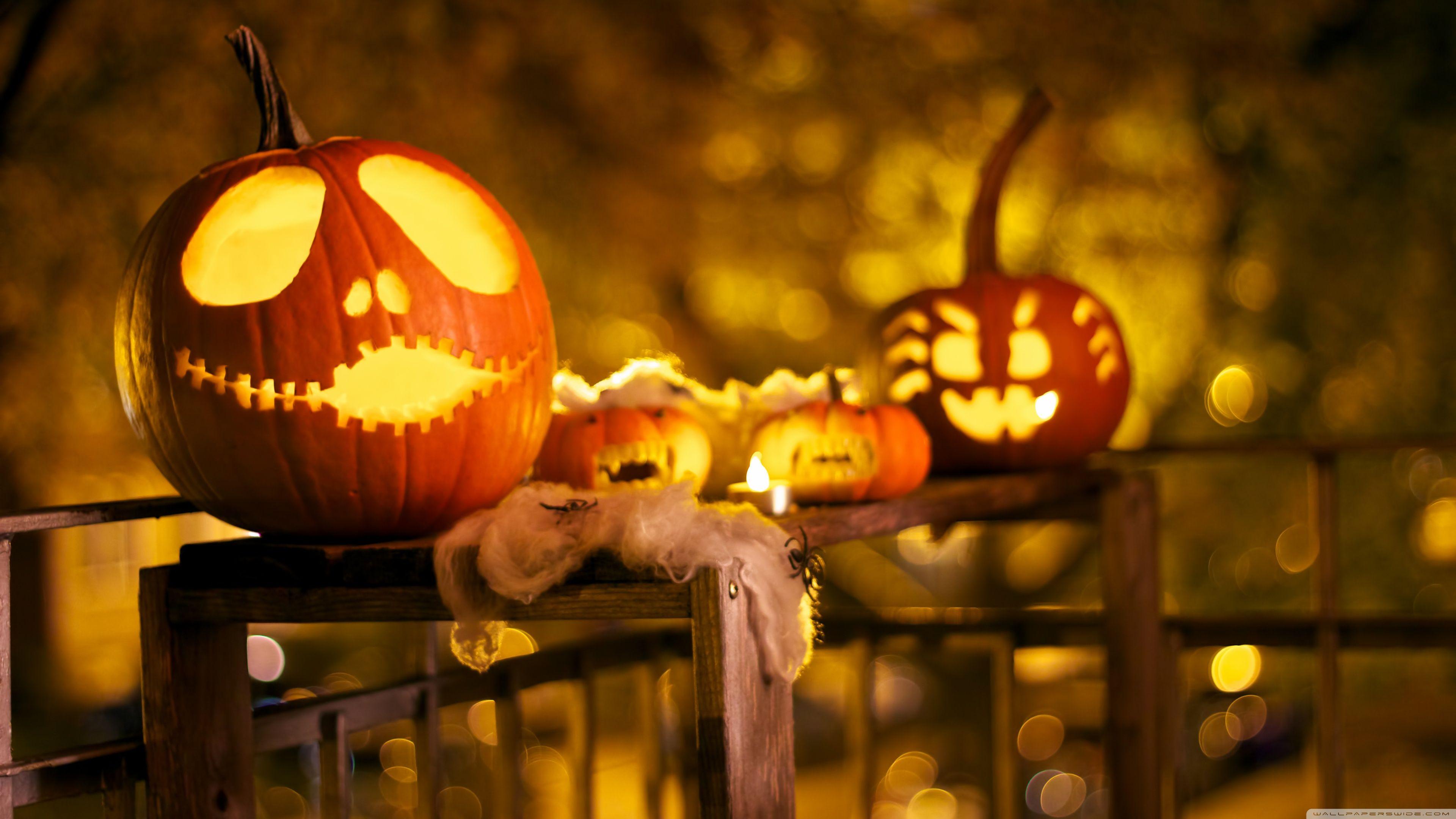 Halloween Decorations ❤ 4k Hd Desktop Wallpaper For - Halloween Desktop Wallpaper Hd - HD Wallpaper