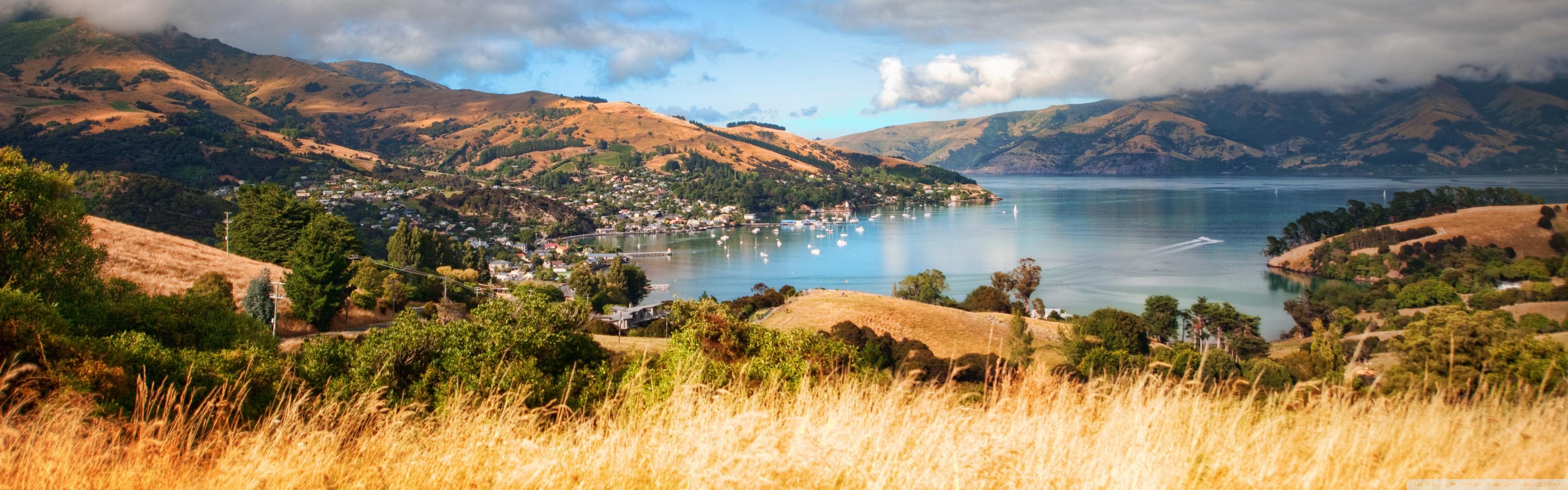 New Zealand Landscape 4k - HD Wallpaper