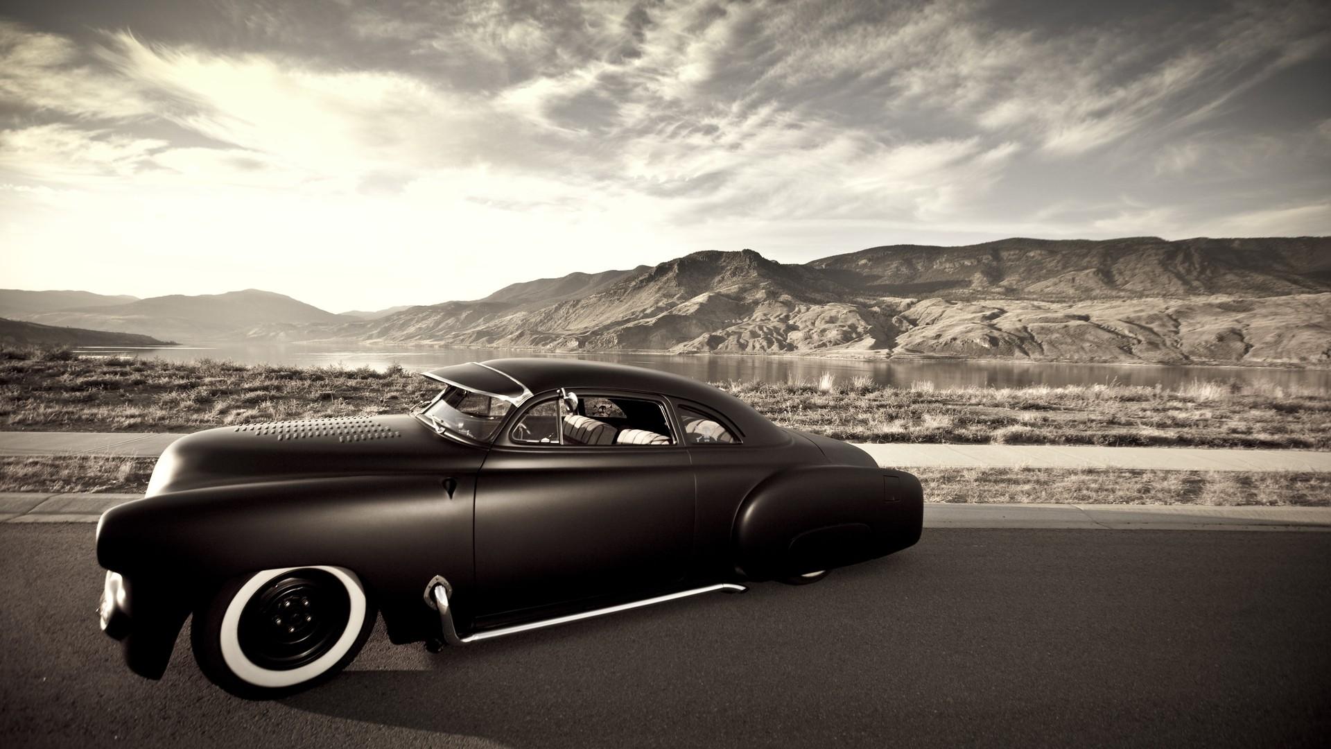 Muscle Car Hot Rod - HD Wallpaper