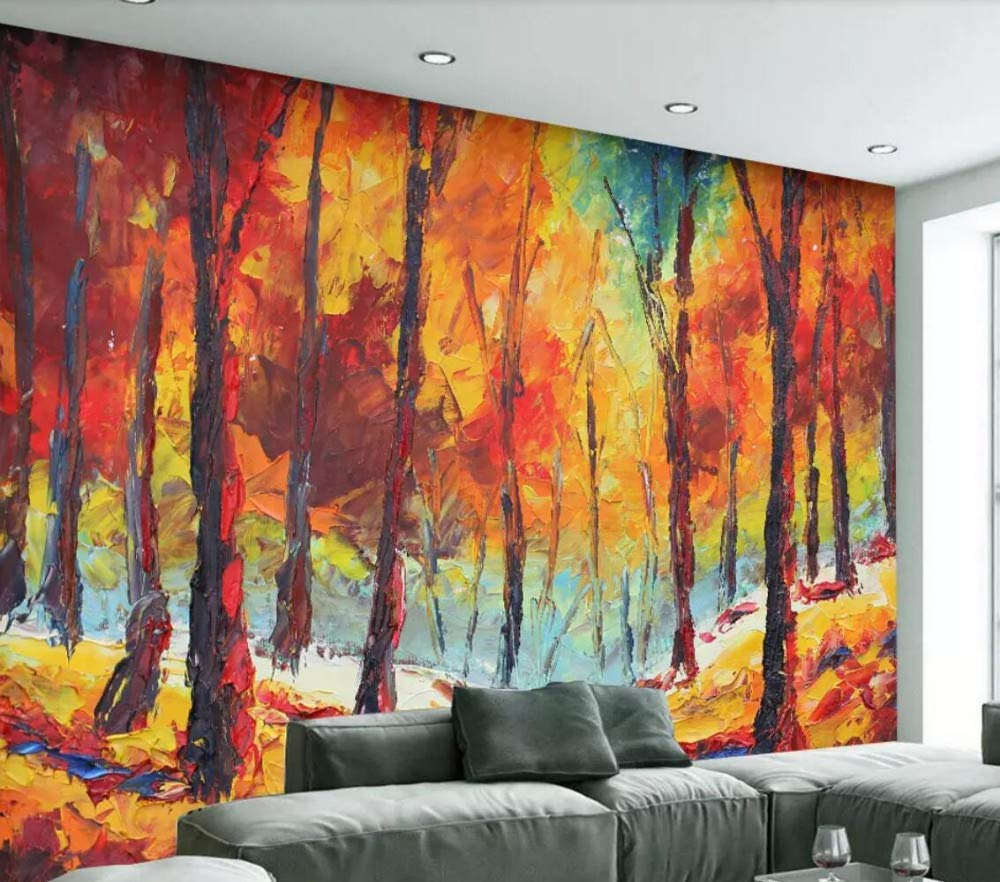 Amazon Forest Fire Painting - HD Wallpaper