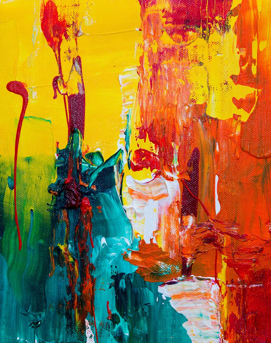 Abstract Expressionism, Abstract Painting, Acrylic - Abstract Painting - HD Wallpaper