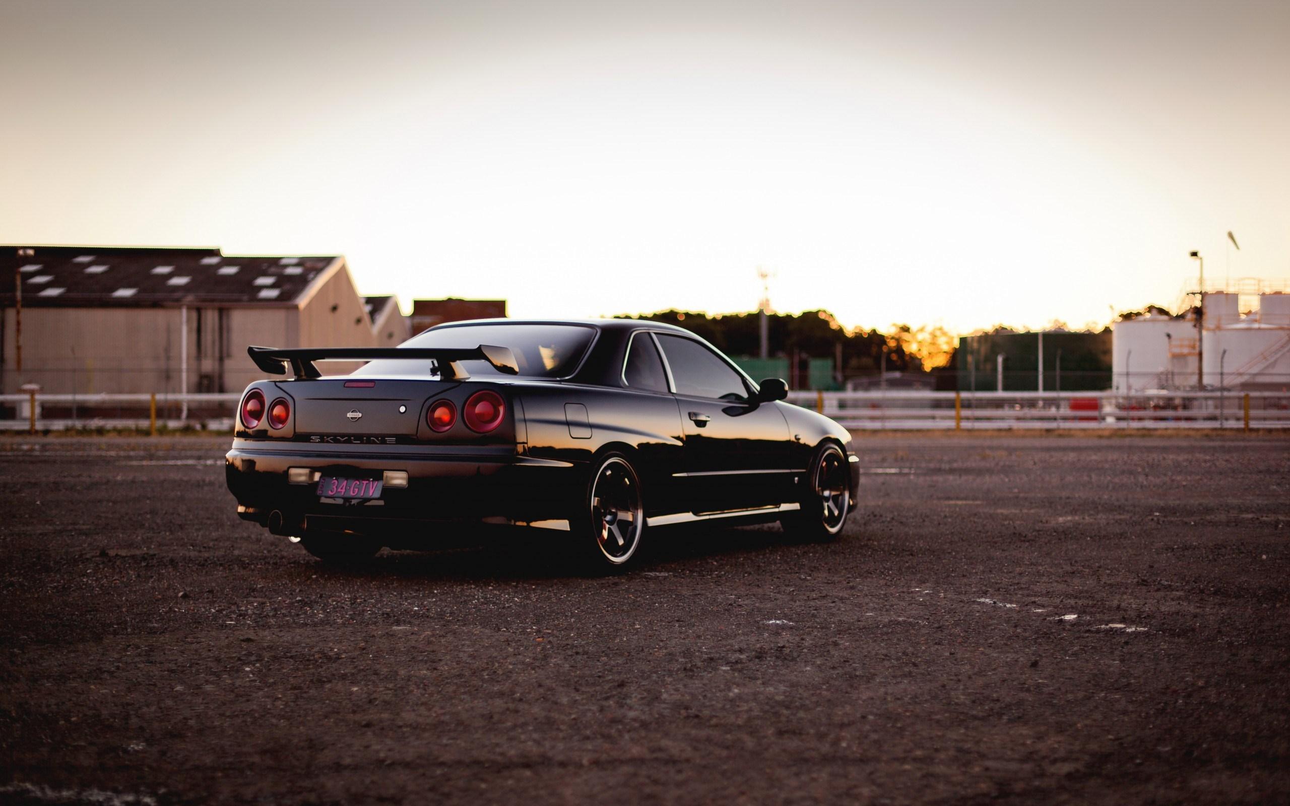 Skyline Nissan Wallpaper Black 2560x1600 Wallpaper Teahub Io