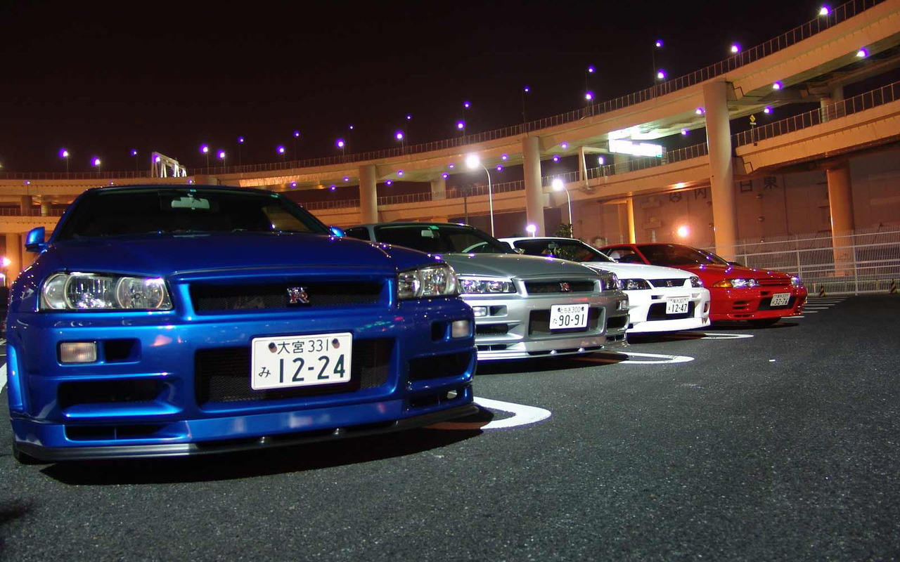 Nissan Skyline Gtr Wallpapers Group Nissan Skyline Gtr Group 1280x800 Wallpaper Teahub Io