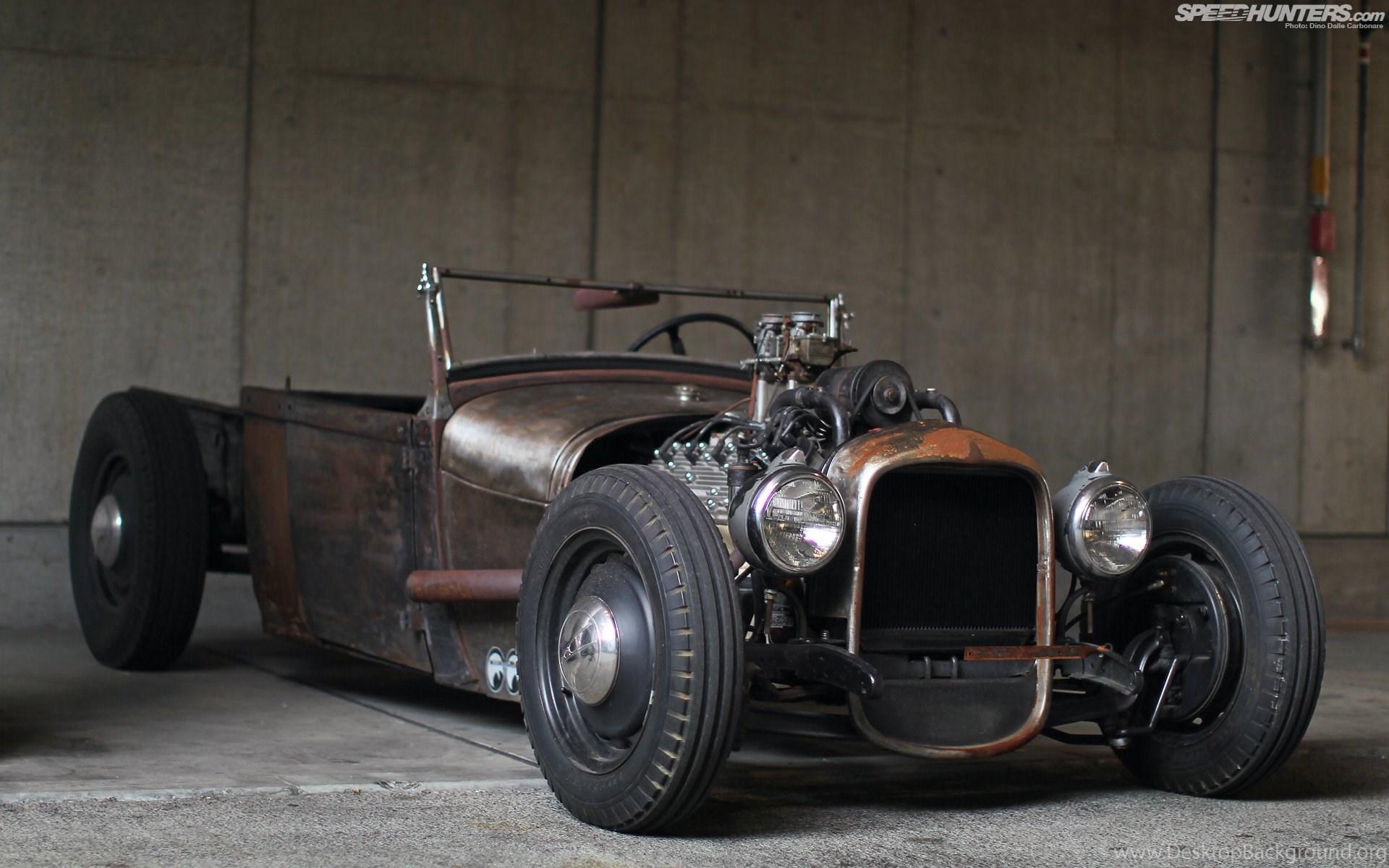 Old Hot Rod Wallpaper - Rat Rod Car Wallpaper Hd - HD Wallpaper