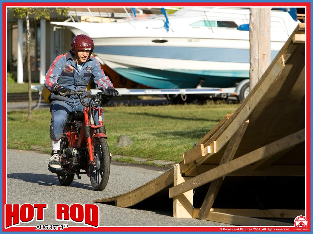 Hot Rod Wallpaper - Hot Rod Andy Samberg Bike - HD Wallpaper