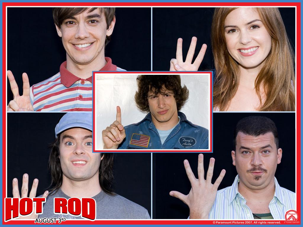 Hot Rod Wallpaper - Hot Rod Movie Actors - HD Wallpaper