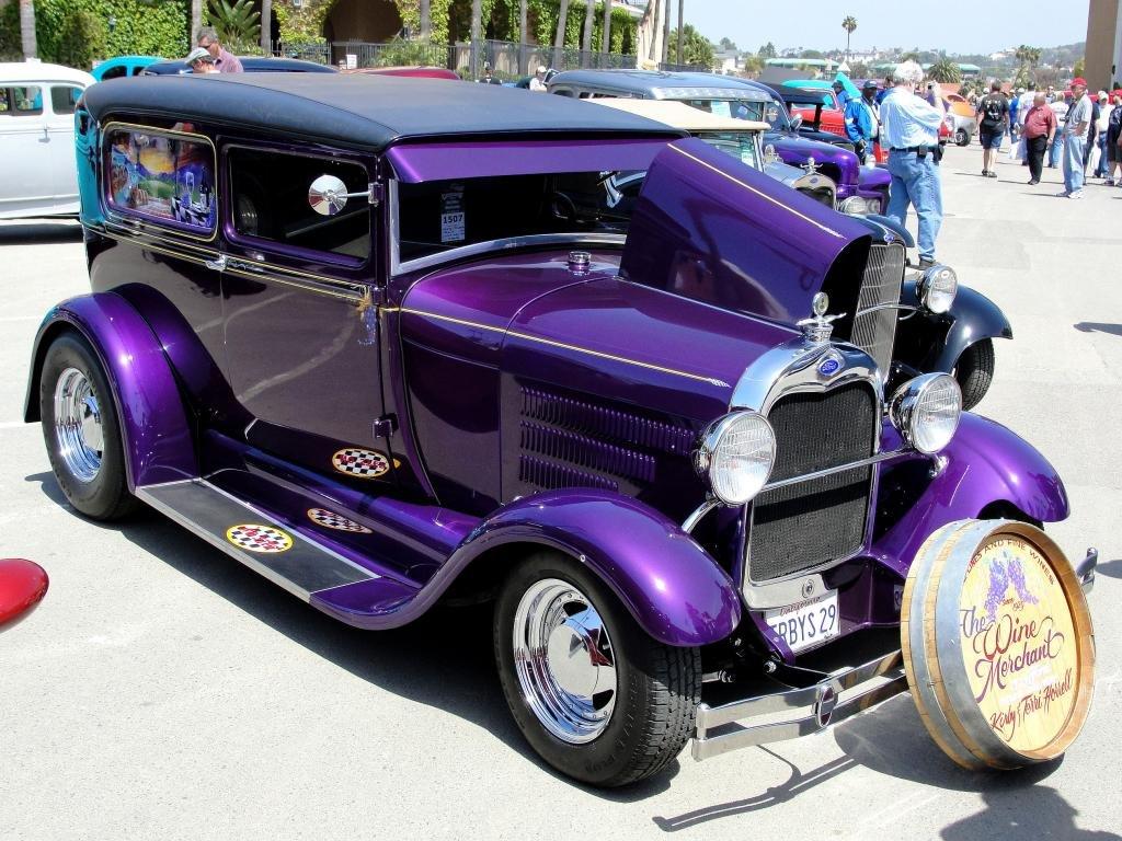 Download Hd Hot Rod Pc Wallpaper Id - Dark Purple Hot Rod - HD Wallpaper