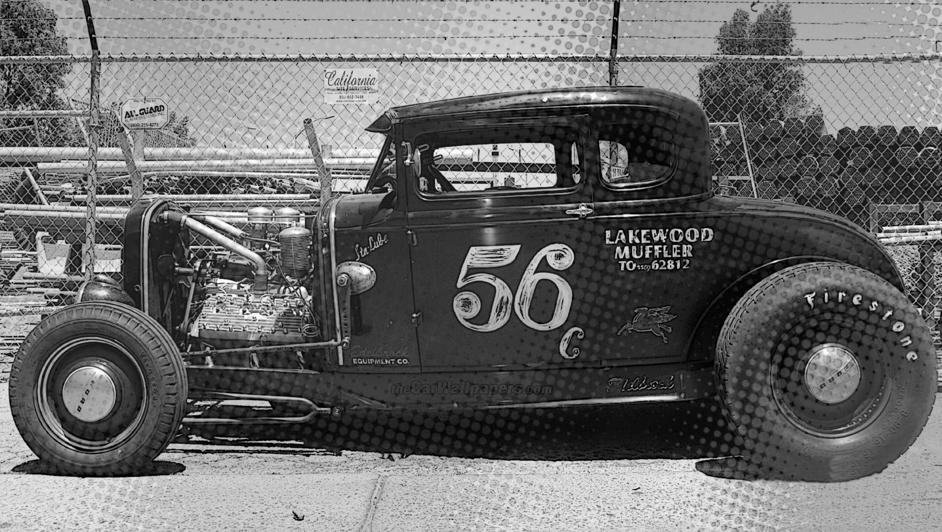 Hot Rod Cars Vintage - HD Wallpaper