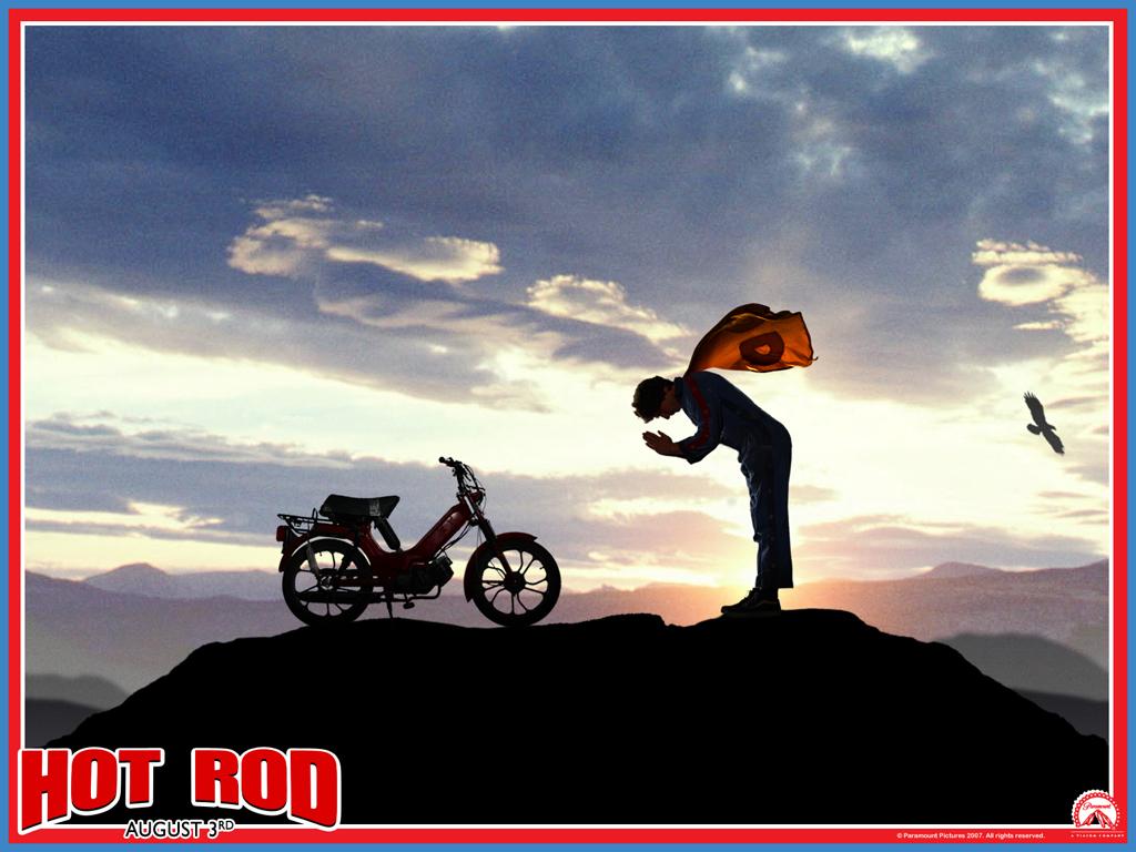 Hot Rod Wallpaper - Hot Rod Movie Poster - HD Wallpaper