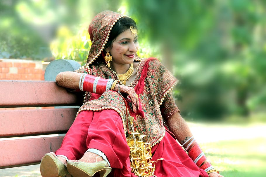 Indian Girl Wedding 910x607 Wallpaper Teahub Io