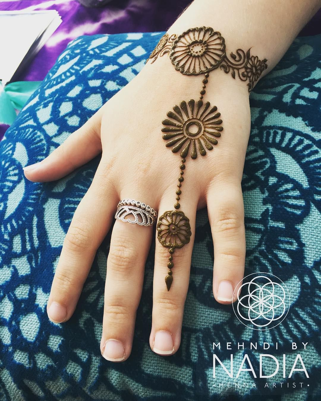 new mehndi design easy and simple