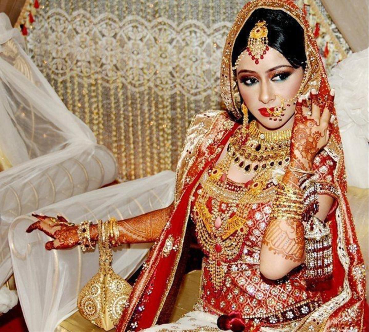 Wedding Indian Fat Bride - HD Wallpaper