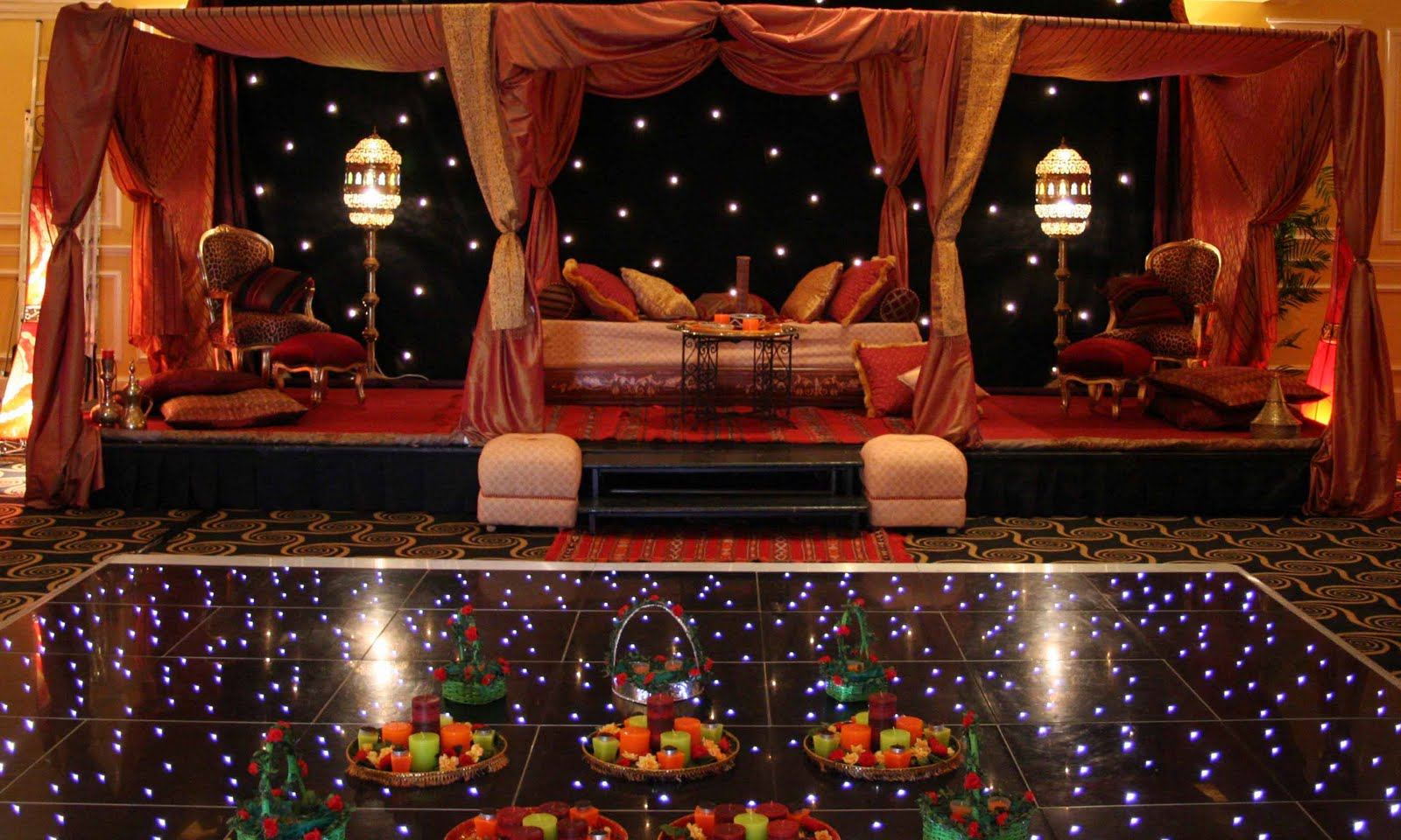 Wallpaper Backgrounds Indian Wedding Stage Decoration Moroccan Themed Wedding Stage 1600x960 Wallpaper Teahub Io