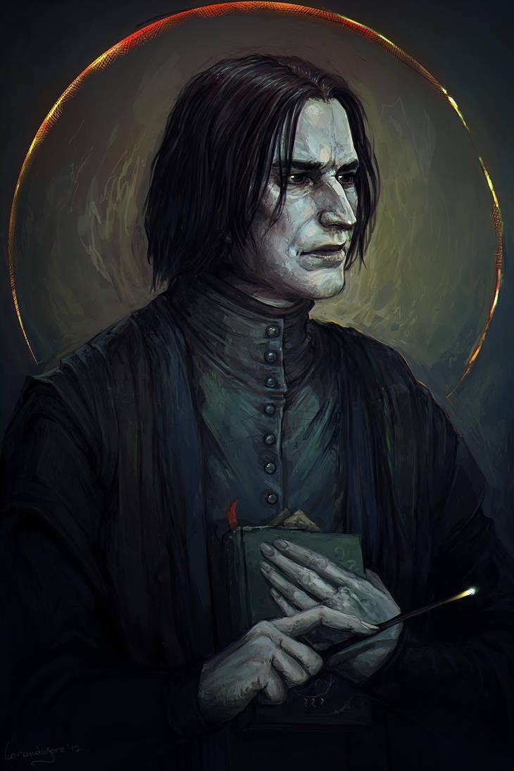 Harry Potter Jim Kay Severus Snape - HD Wallpaper