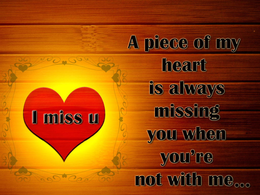 Love miss u with 18 Most