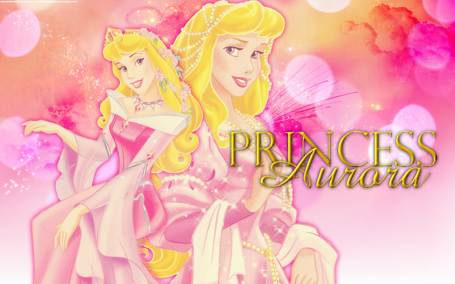Pink Princess Disney Name 1920x1200 Wallpaper Teahub Io