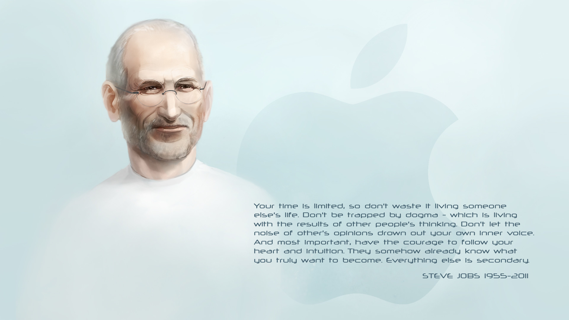 Three Inspiring Quotes By Steve Jobs That Should Be - 4k Wallpaper Quotes Steve Jobs 4k - HD Wallpaper