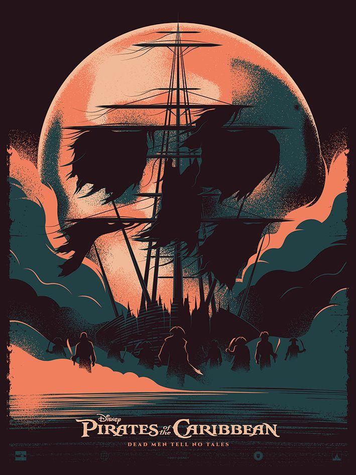 Kartun Pirates Of The Caribbean Poster - HD Wallpaper