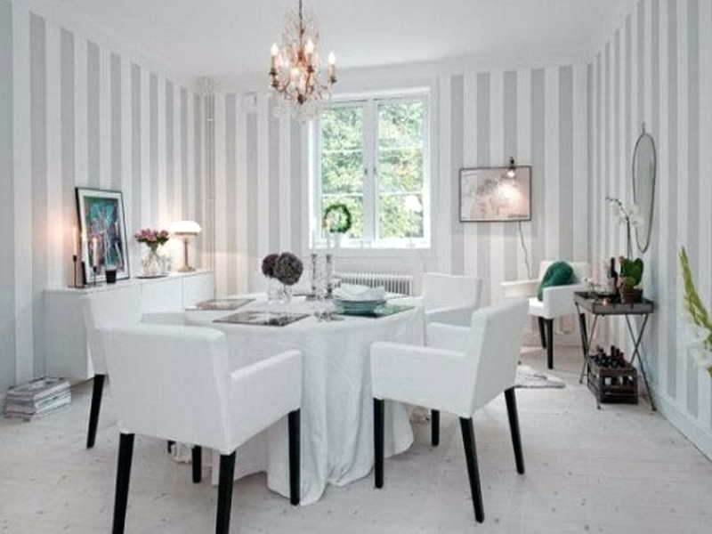 Dining Room Per Ideas Dining Room Wallpaper Ideas Dining Stripe Wall Living Room Design 800x600 Wallpaper Teahub Io