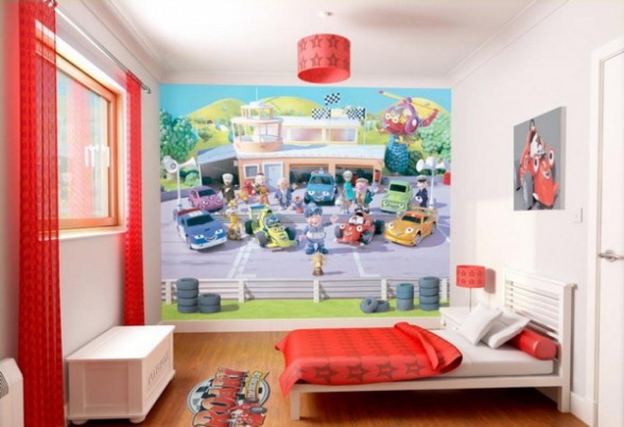 Kids Room Wall Paper Designs - HD Wallpaper