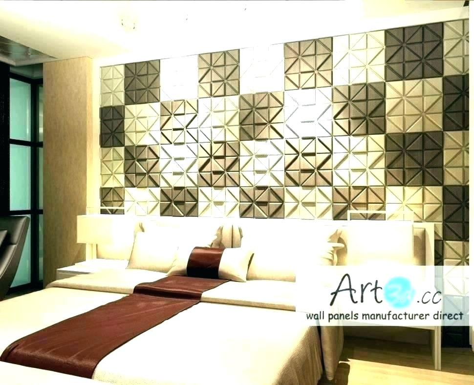 Wallpaper For Bedroom Walls Designs Feature Walls Ideas - Bedroom Wall Tiles Design India - HD Wallpaper