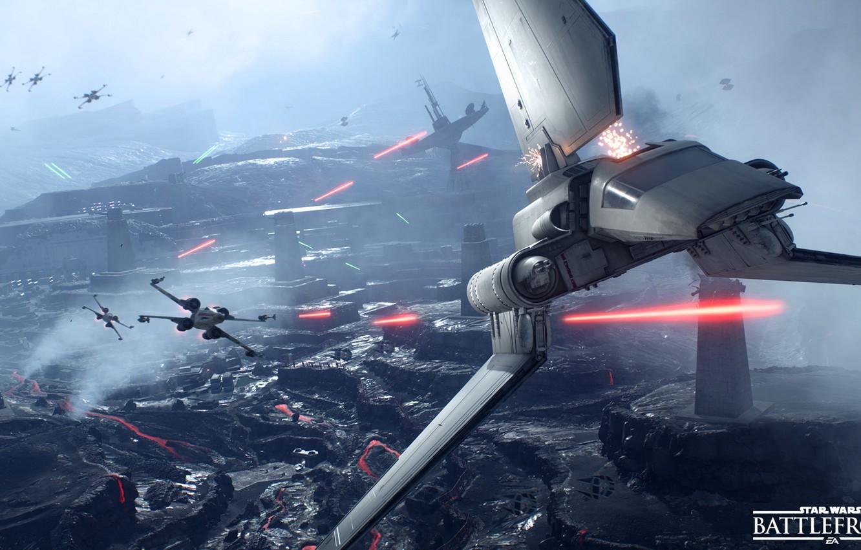 Photo Wallpaper Game Electronic Arts Dice X Wing Star Wars Battle Field 1332x850 Wallpaper Teahub Io