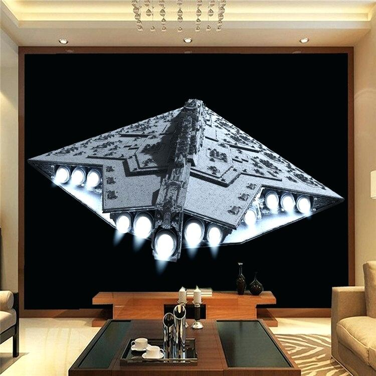 Us Off Spacecraft Photo Wallpaper Star Wars Wall Mural 750x750 Wallpaper Teahub Io