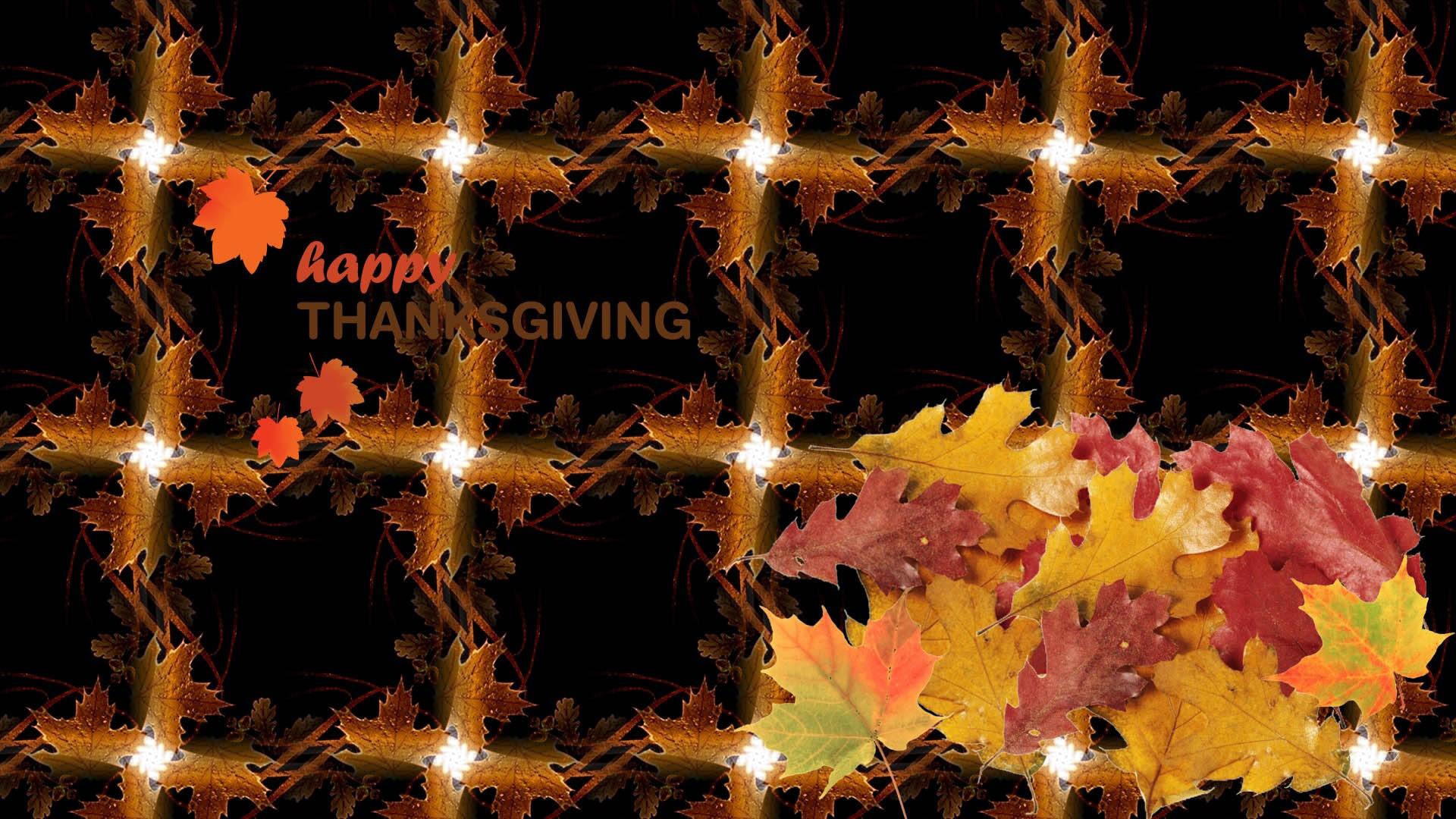 3d Thanksgiving Desktop Wallpaper Desktop Wallpapers - Happy Thanksgiving 3d Desktop - HD Wallpaper