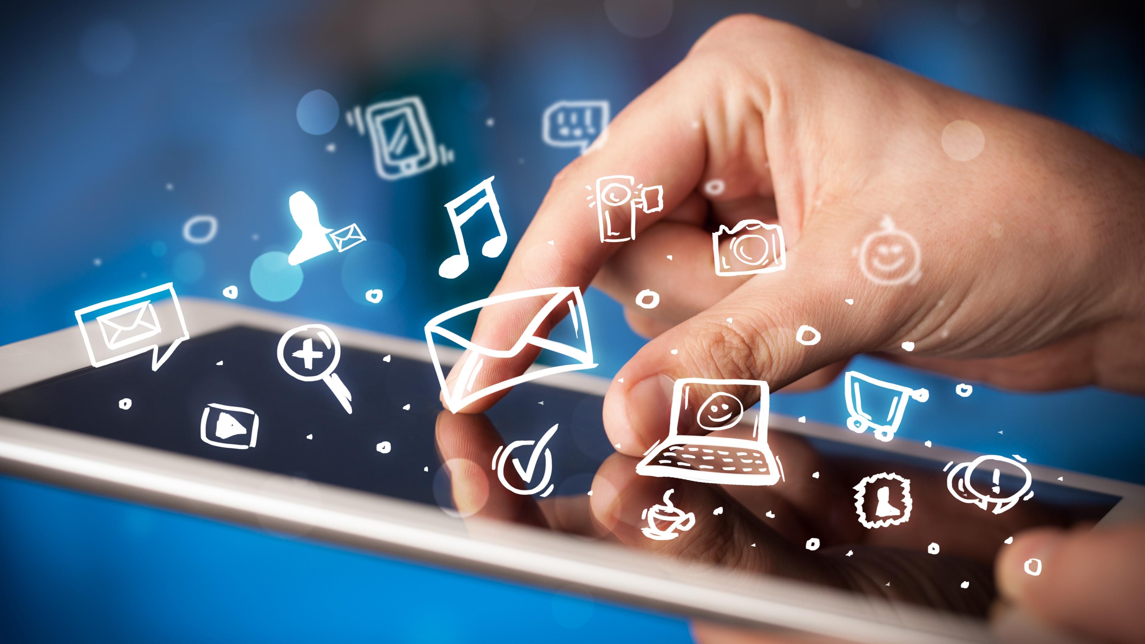 4k Ultra Hd Hi Tech Wallpapers Desktop Backgrounds Mobile Technology 3840x2160 Wallpaper Teahub Io