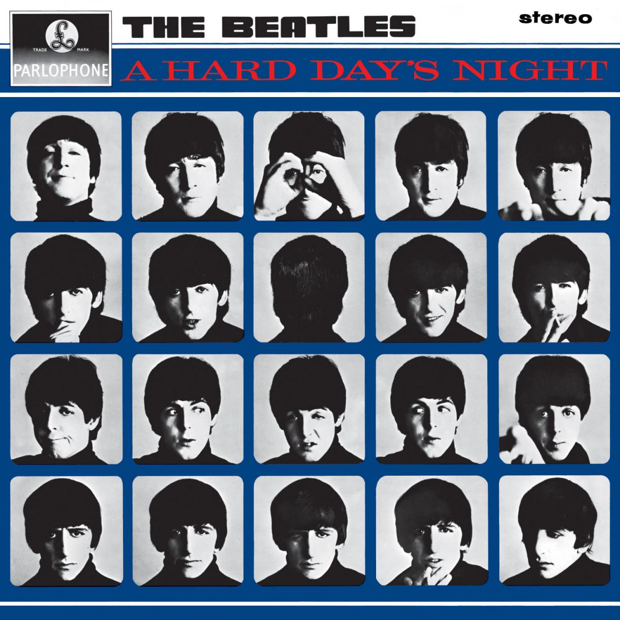 Beatles A Hard Day's Night Album Cover - HD Wallpaper