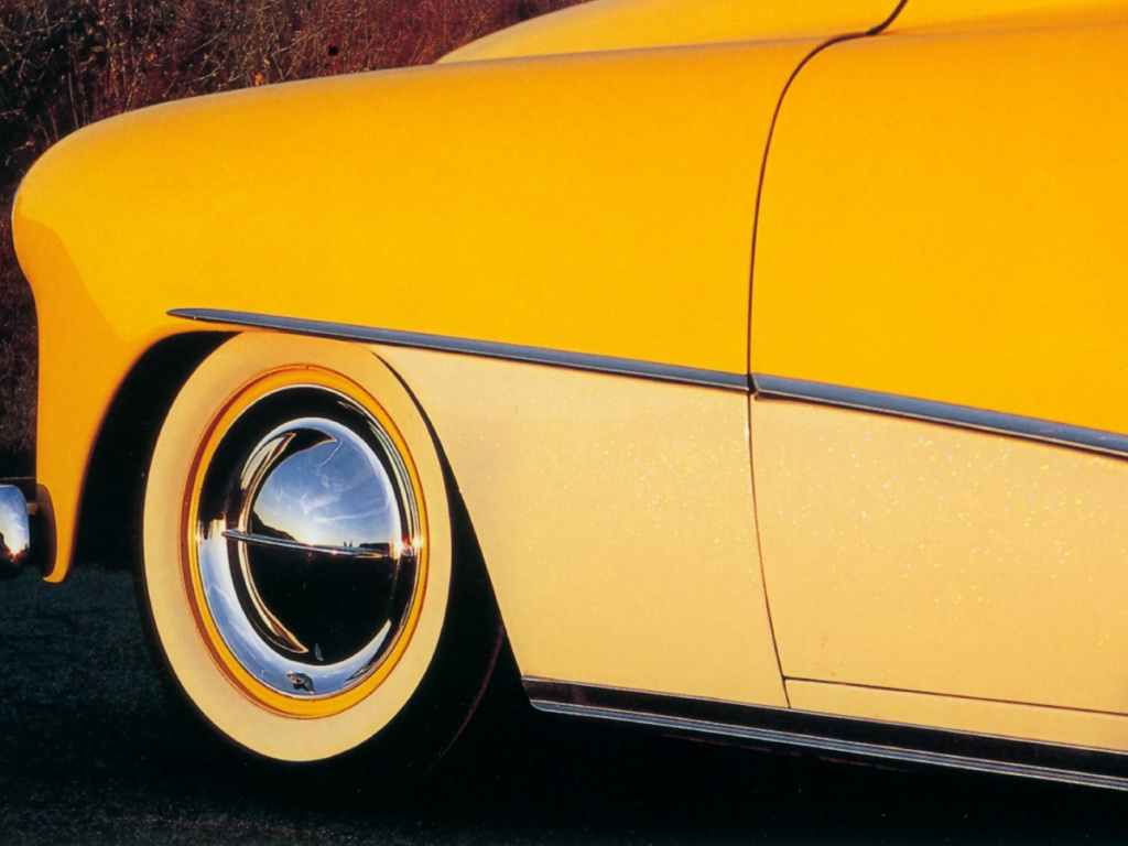 Hot Rods 1950 Cheverlot - Antique Car - HD Wallpaper