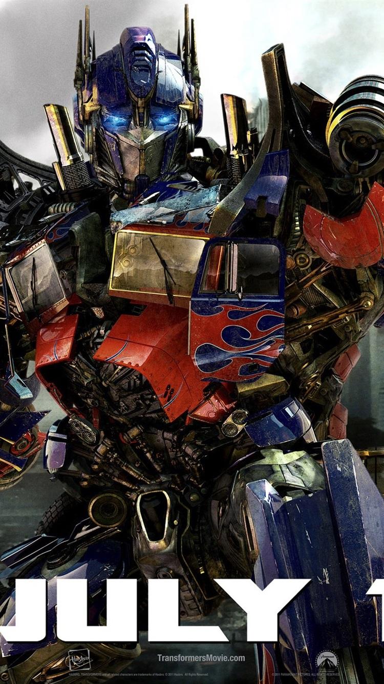 Iphone Wallpaper Optimus Prime Transformers - Transformer Optimus Prime Dark Of The Moon - HD Wallpaper