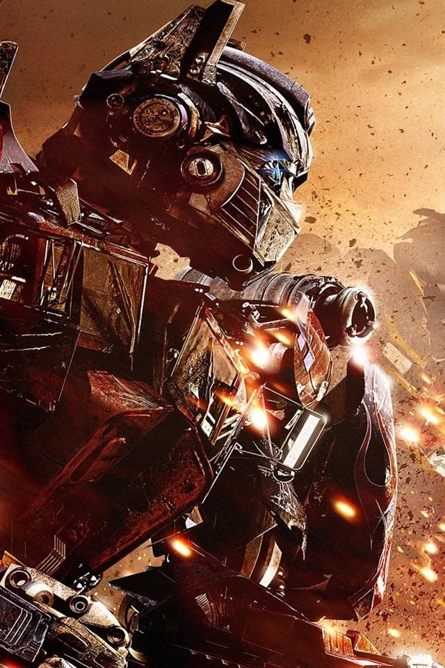 Iphone Wallpaper Optimus Prime And Bumblebee In Transformers - Transformers Bumblebee Movie And Optimus Prime - HD Wallpaper