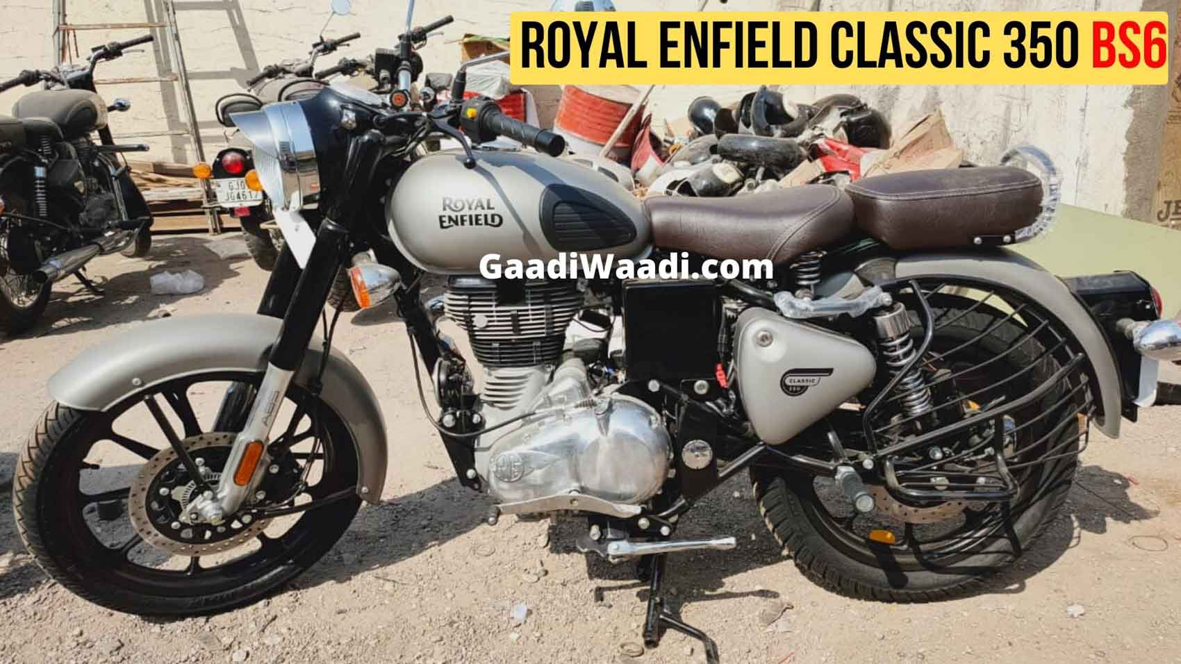 2020 Royal Enfield Classic 350 Bs6 Gunmetal Grey Bs6 Royal Enfield Classic 1700x956 Wallpaper Teahub Io