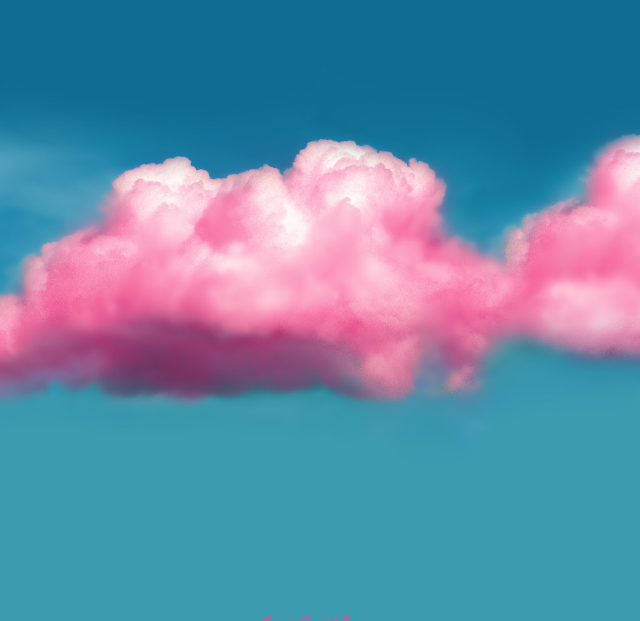 177 1777356 on the desktop wallpaper rainbow clouds daisies fluffy