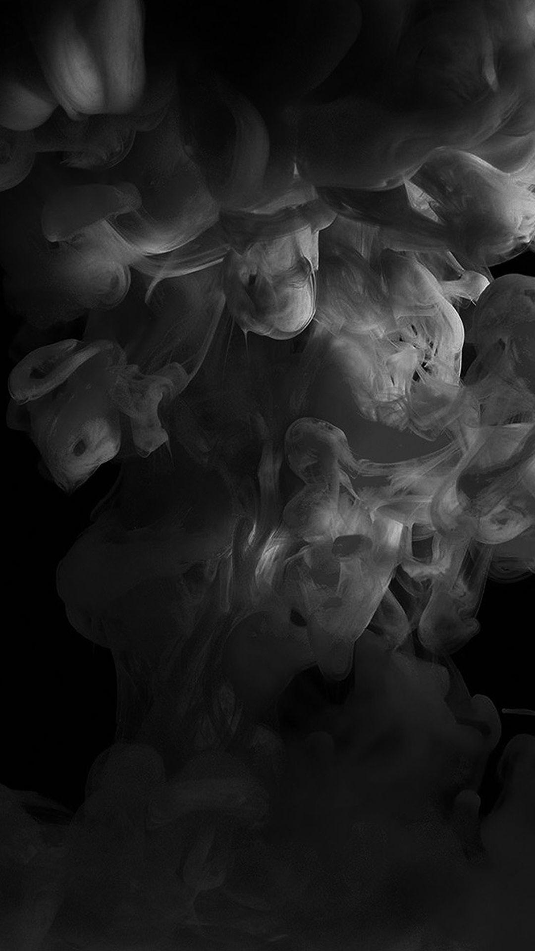 1080x1920 Smoke Dark Bw Abstract Fog Art Illust Abstract Black Wallpaper Iphone X 1080x1920 Wallpaper Teahub Io