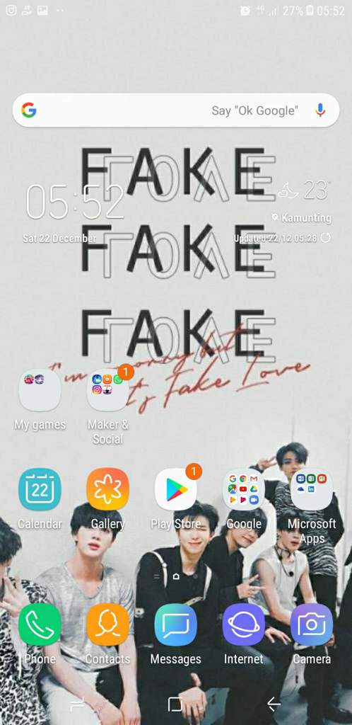 User Uploaded Image - Bts Fake Love Wallpaper Iphone - HD Wallpaper