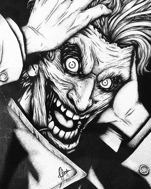 Black Joker Wallpaper Joker Wallpaper Black And White 2448x3060 Wallpaper Teahub Io