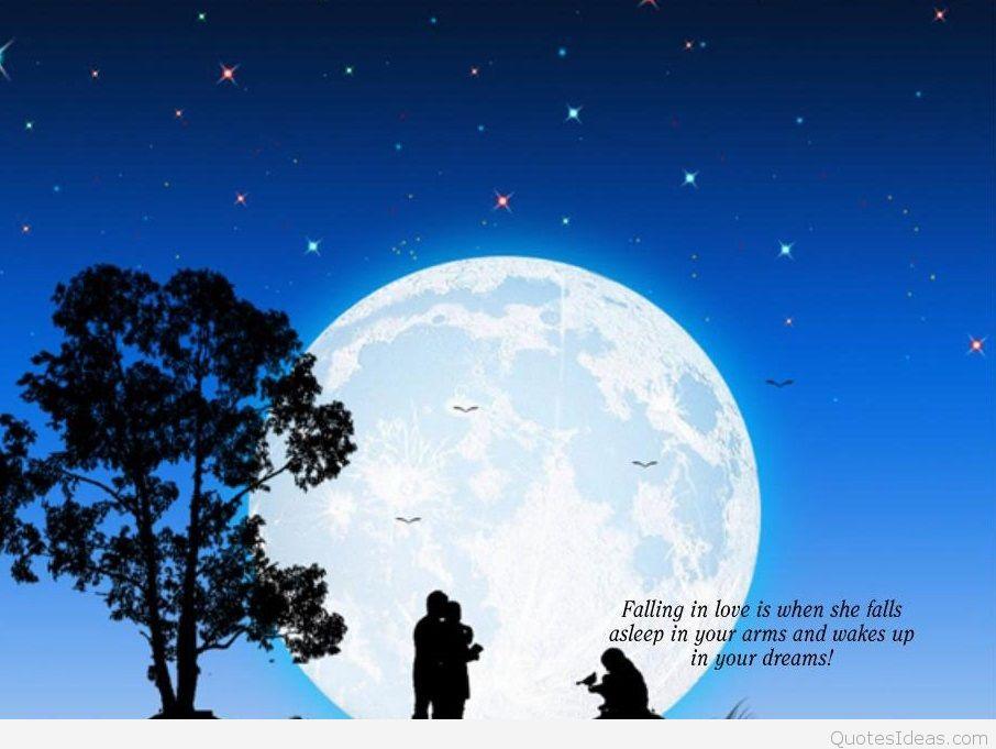 Romantic Love Quotes Wallpaper Love Backgrounds - Good Night Shayari Image Bangla - HD Wallpaper