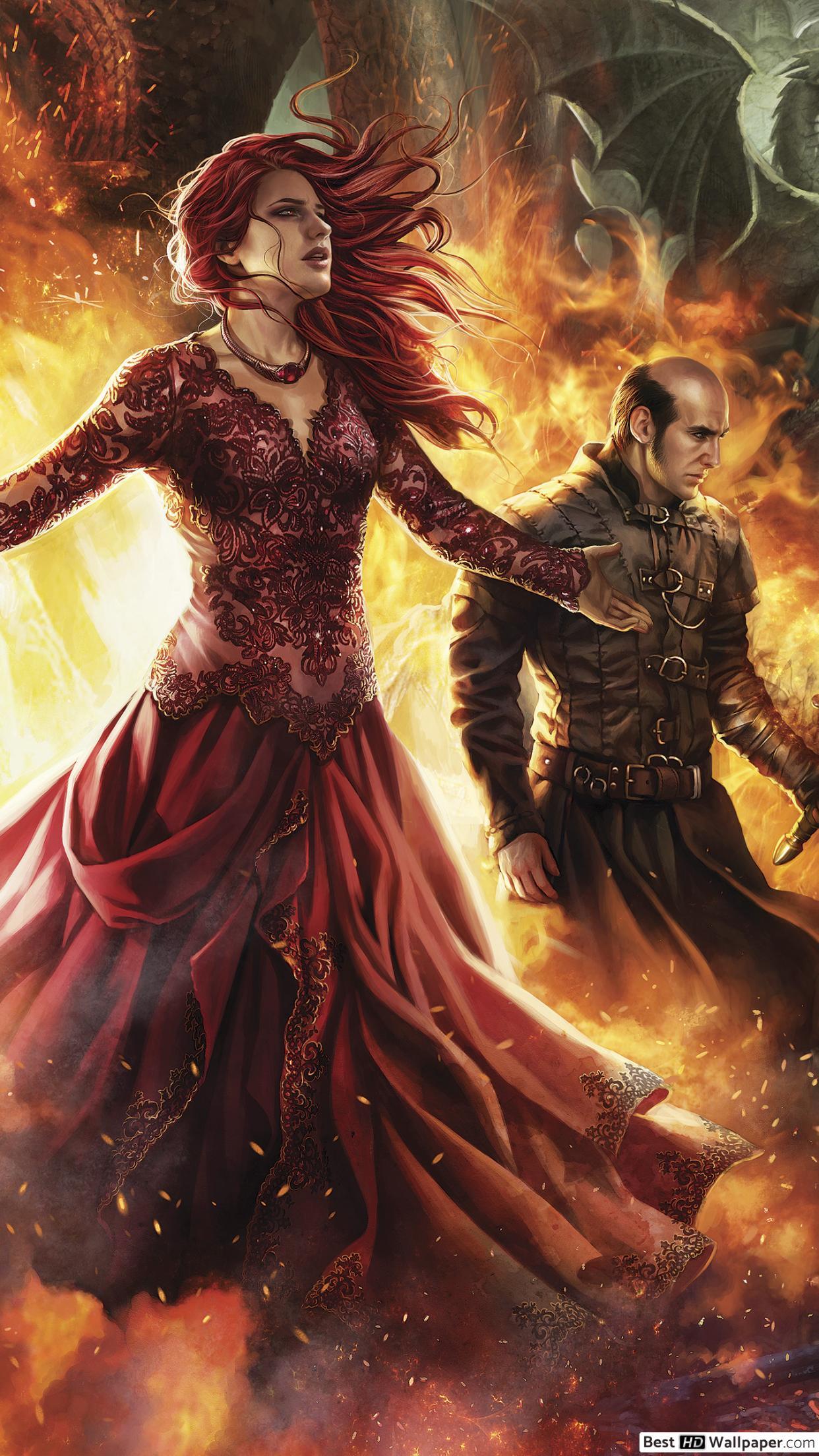 Game Of Thrones Calendar Art - HD Wallpaper