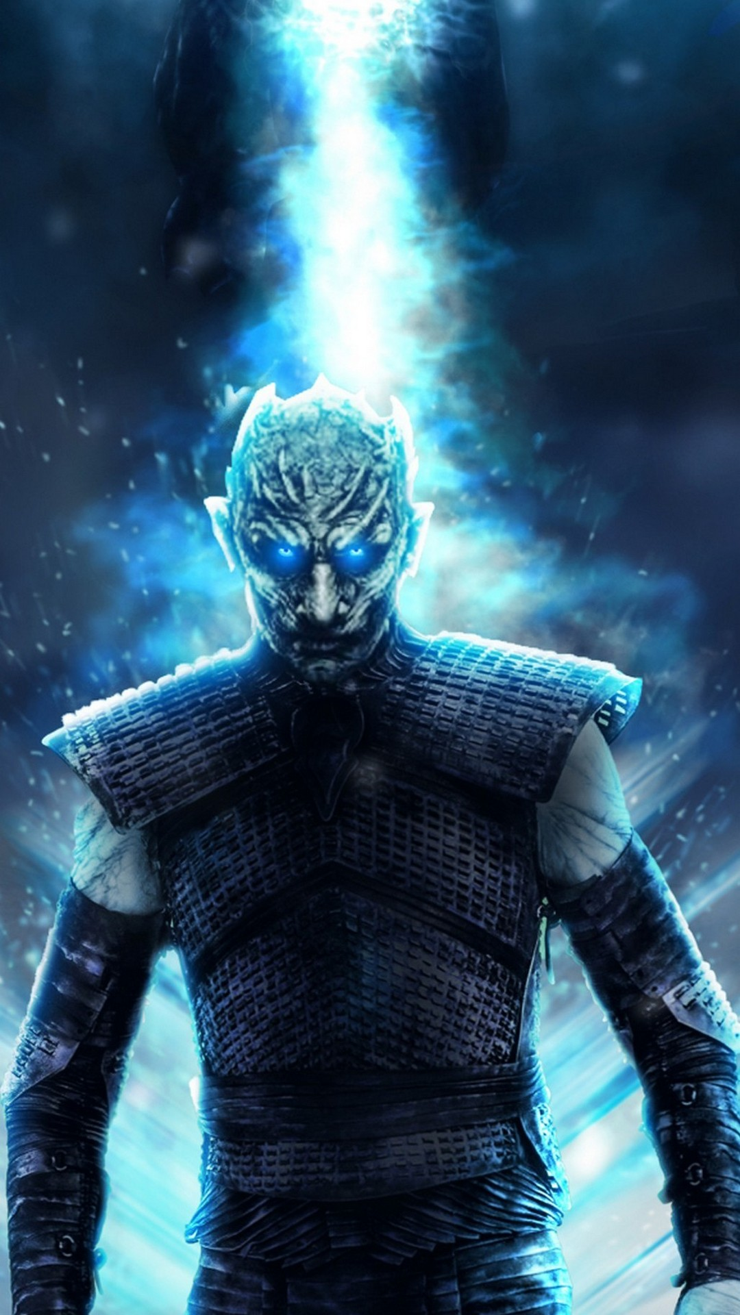 Wallpaper Iphone Game Of Thrones 8 Season With High-resolution - Game Of Thrones Night King Poster - HD Wallpaper